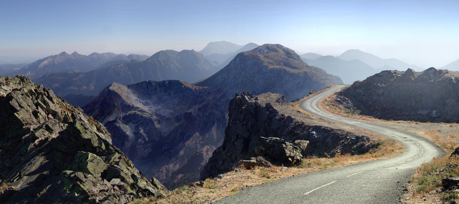 mountain road mattepainting org